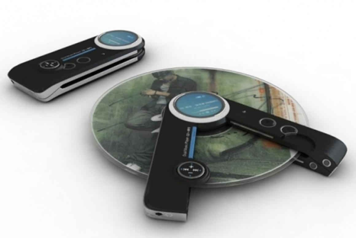 The proposed CD/MP3 player design