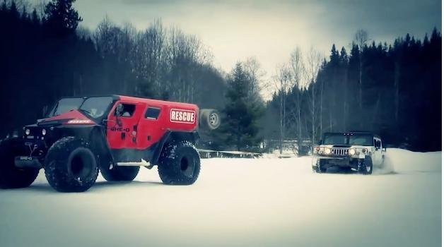 The Ghe-O Rescue makes a Hummer look rather small and weak