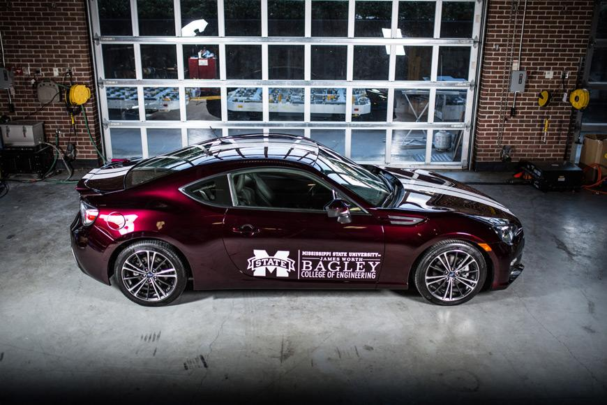 Mississippi State University has turned a regular Subaru BRZ into a lightweight hybrid