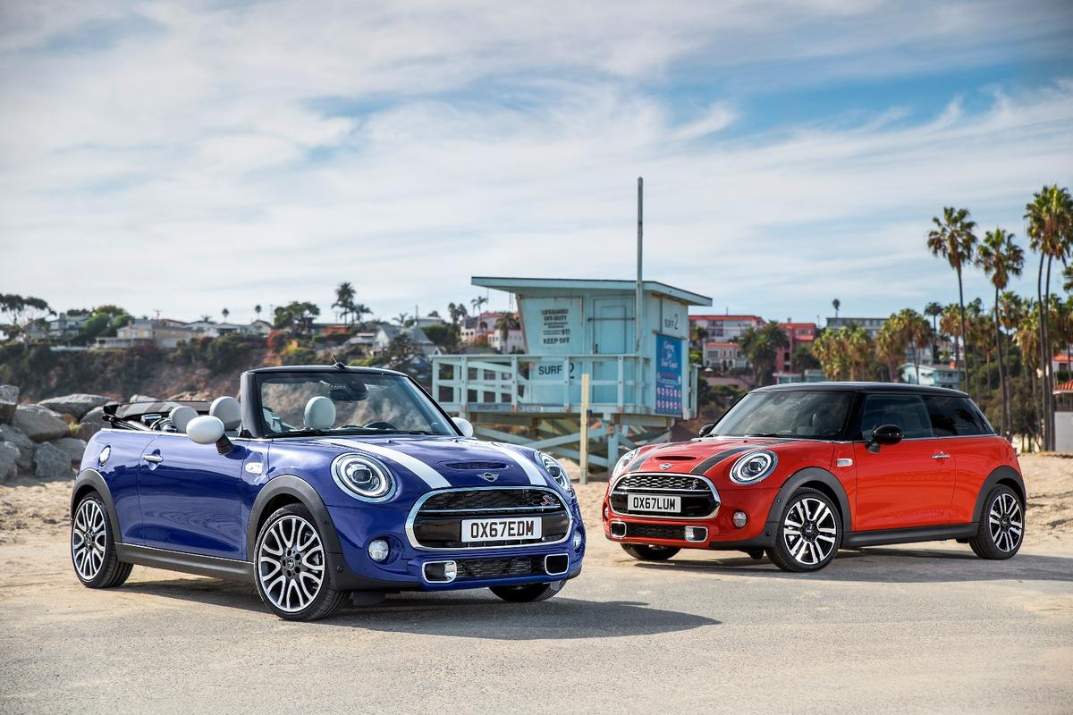 Mini has refreshed its 2018 models inside and out
