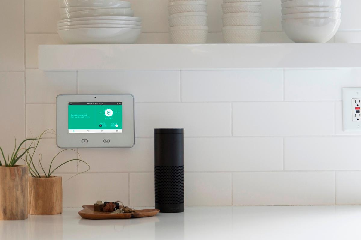 Vivint's integration with Amazon Echo makes it particularly easy to use