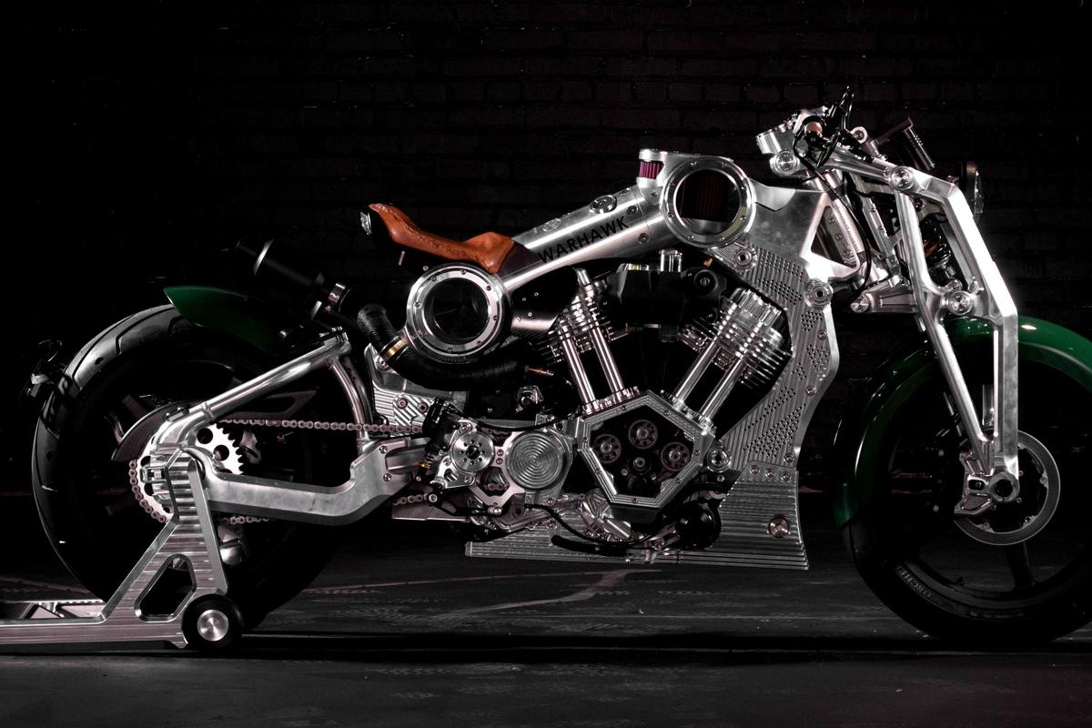 The Warhawk will be the first Curtiss motorcycle in 110 years