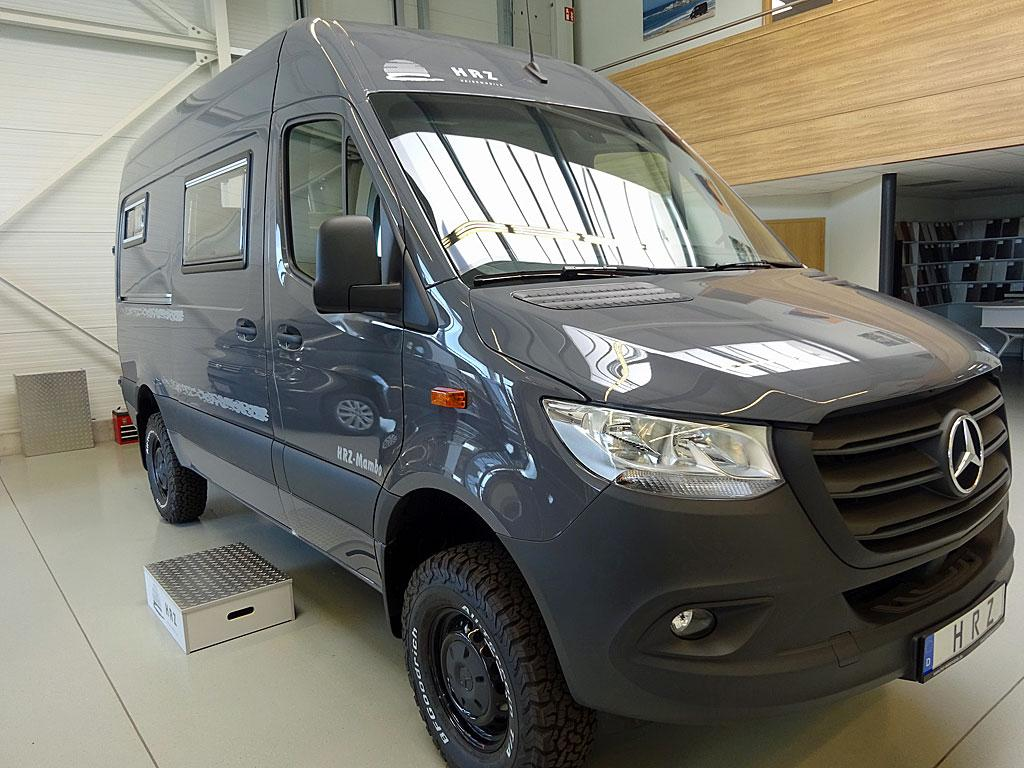 HRZ offers an all-wheel-drive Freedom Package to make the Mambo more of an off-roader