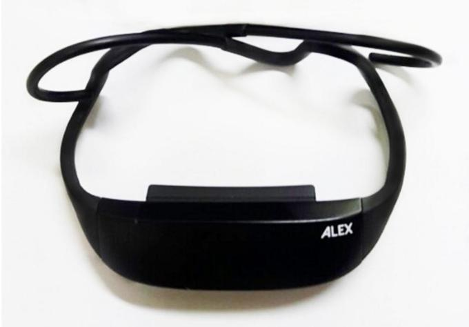 The Alex posture tracker is lightweight at 25 g, folding up for easy storage