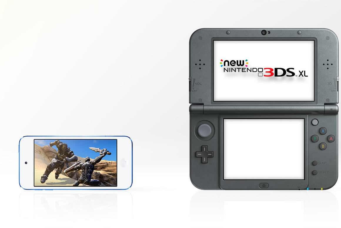 iPod touch (6th generation) vs  New Nintendo 3DS XL