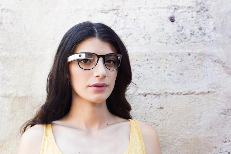 Google has followed up its Titanium collection of Glass frames (pictured) by partnering with the Luxottica Group
