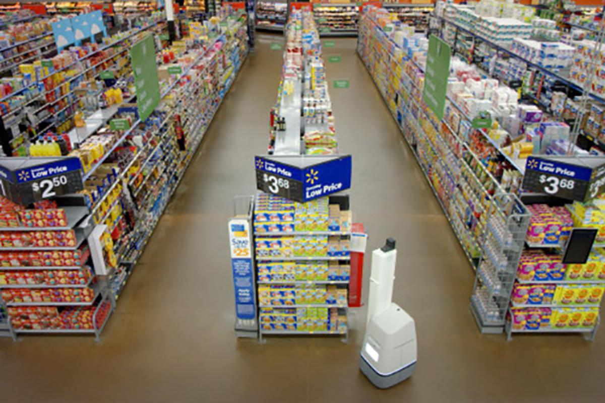 Walmart places a big emphasis on the time its robots will save its employees