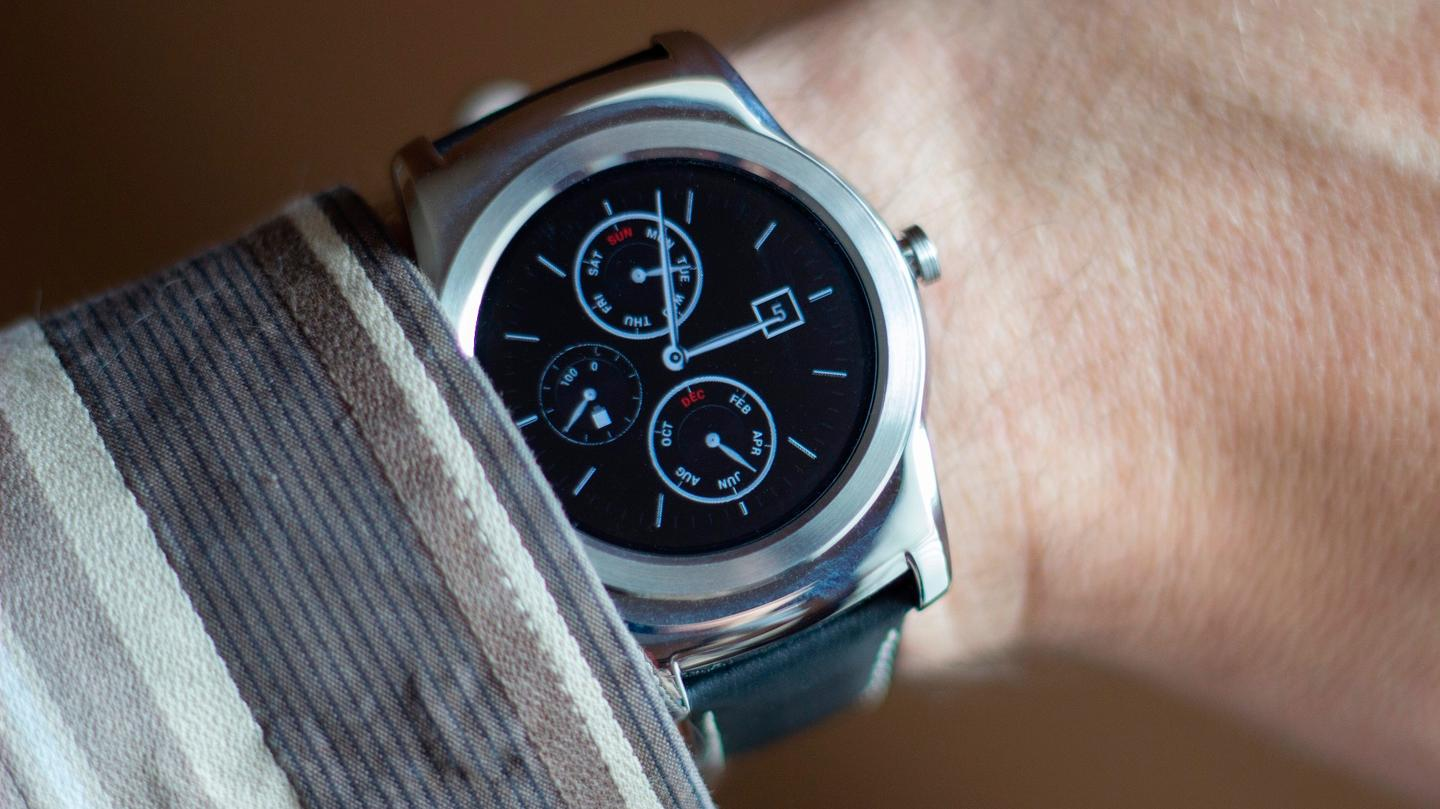 The beautiful (but big) LG Watch Urbane