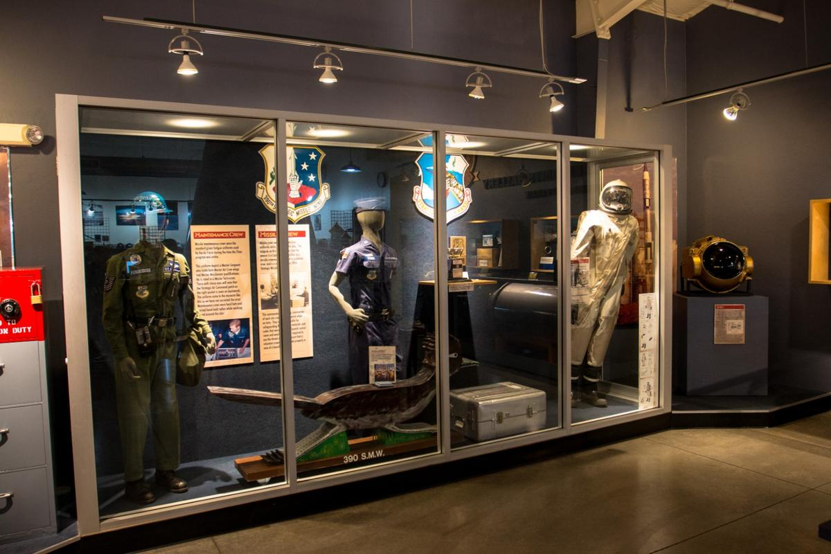 The Titan Museum includes exhibits chronicling the Cold War career of the Titan II