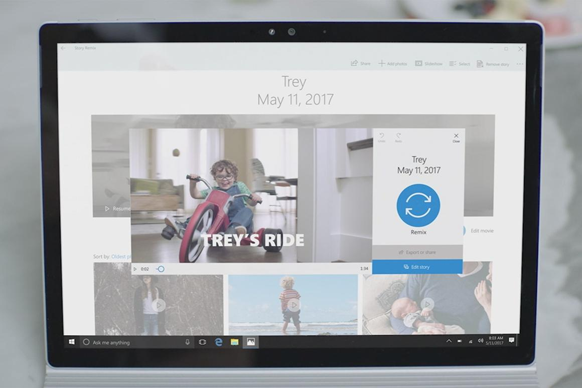 Story Remix, a video creation tool just unveiled by Microsoft, seems to unite all of the best features of its competitors
