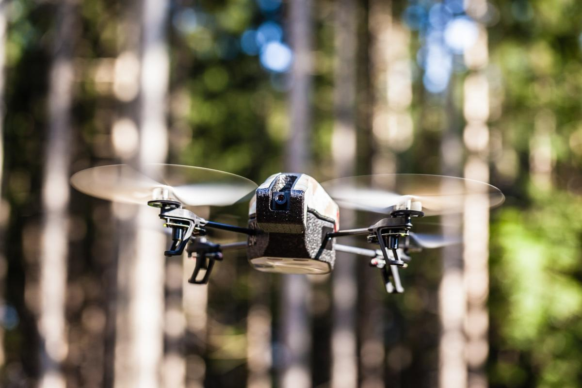 Unmanned aerial vehicles look set to be a big boon in efforts to preserve, monitor, and restore rainforests around the world