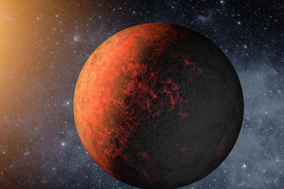 Artist's rendering of Kepler-20e (Image: NASA)