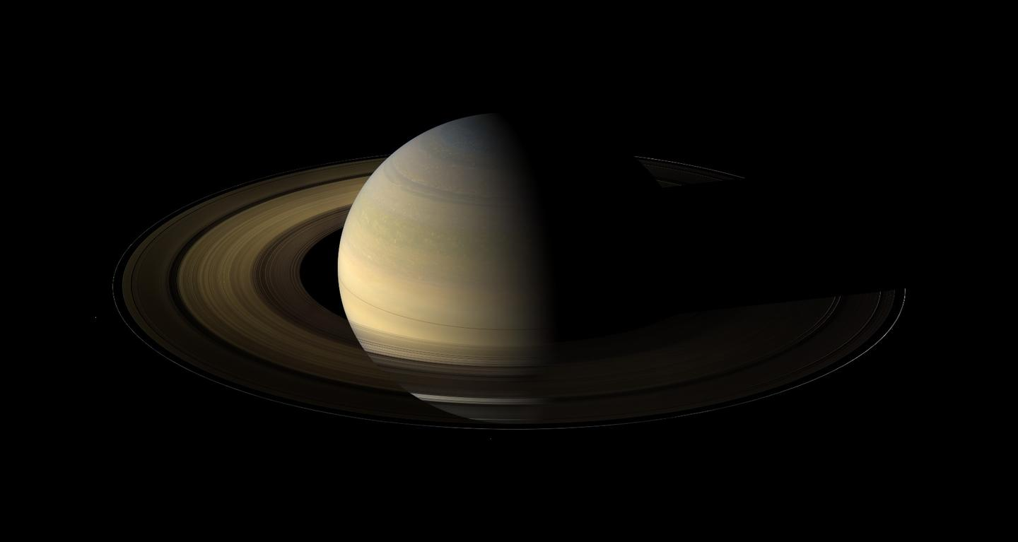 Saturn was visited by the Pioneer and Voyager missions