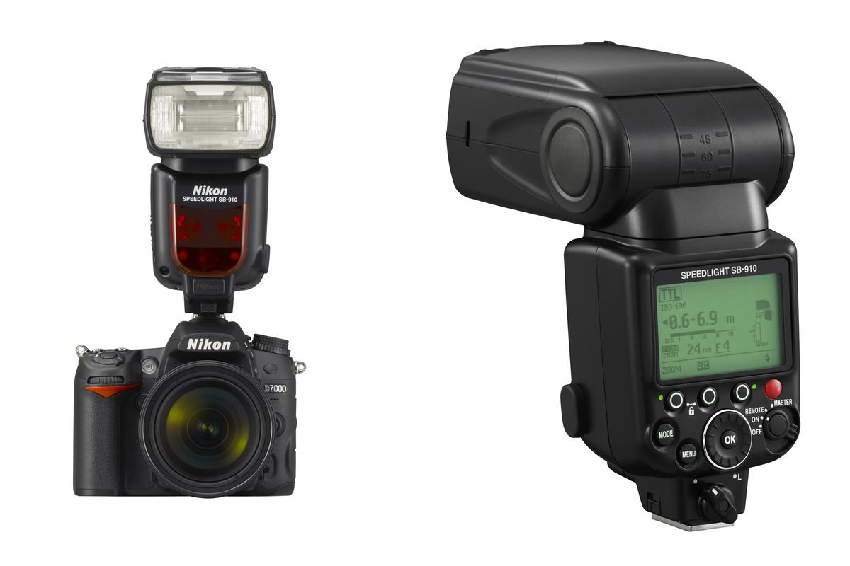 Nikon has revealed a new flagship Speedlight flash unit - the SB-910