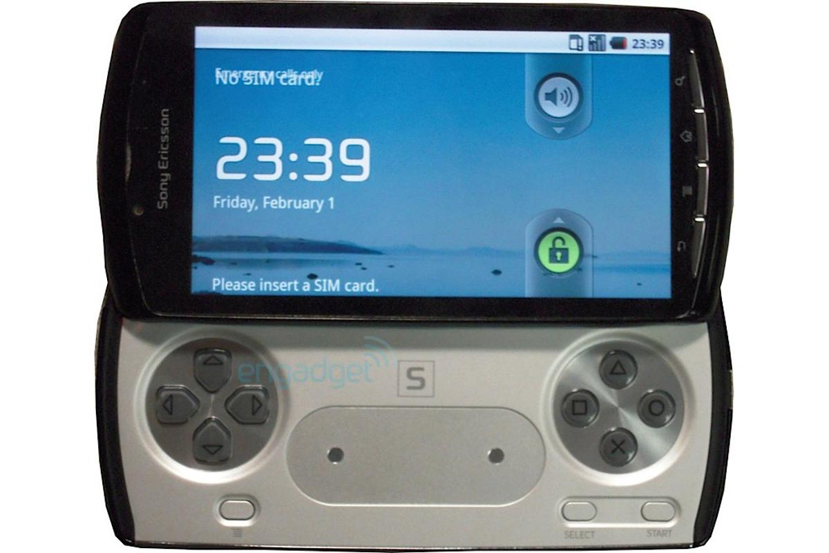 Prototype of the rumored PlayStation Phone (Image: engadget