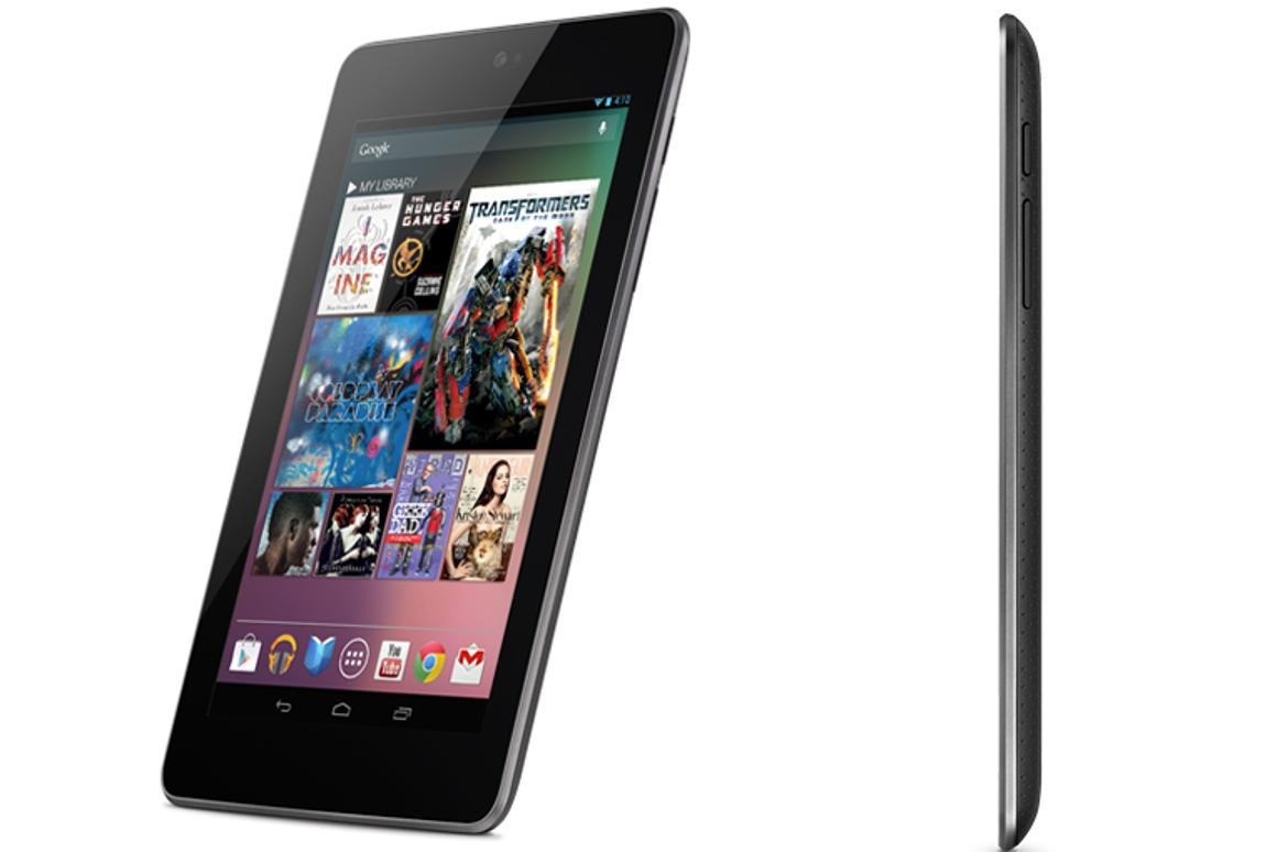 Nexus 7 tablet - Google's first foray into the tablet world