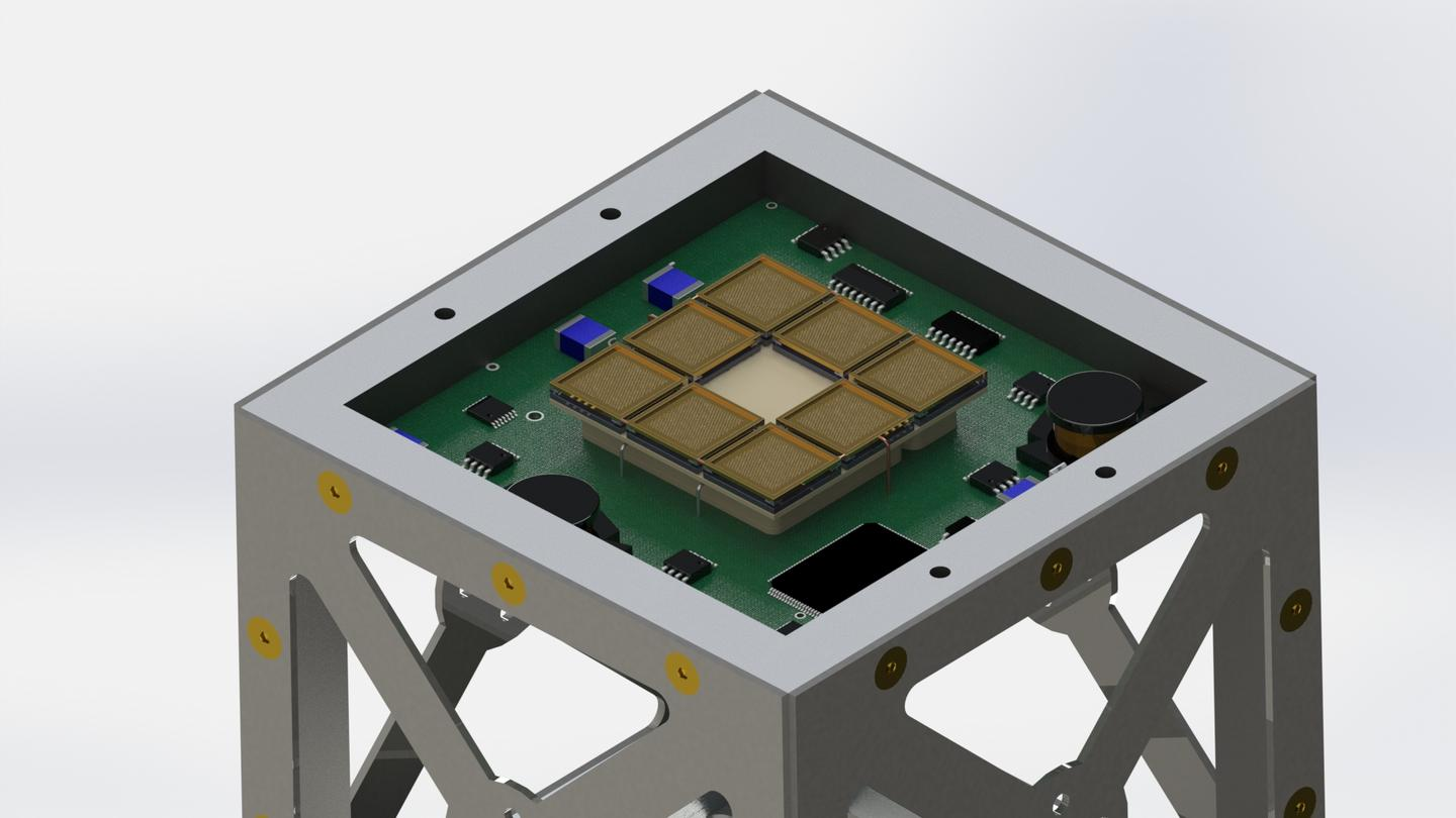 The mission will test a new space propulsion system specifically designed for CubeSats (Image: MIT)