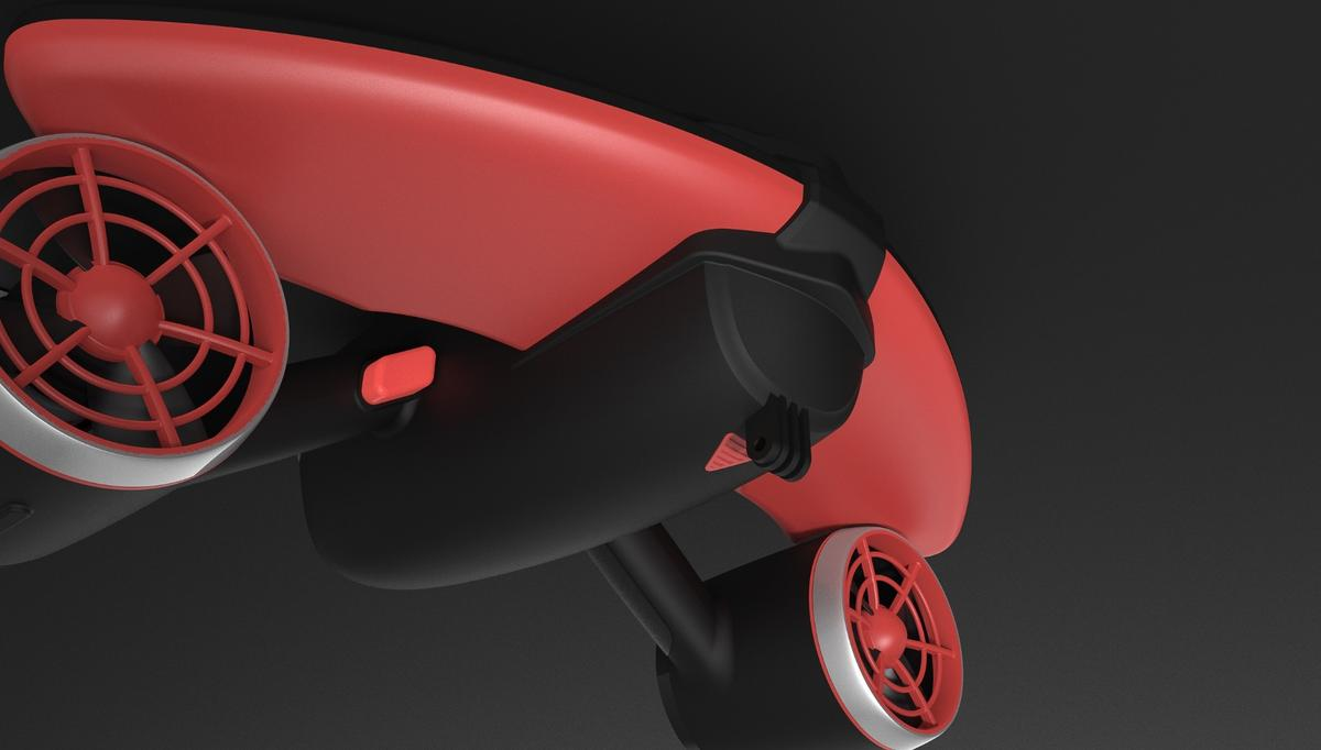 The Seabow pulls swimmers, snorkelers or scuba divers along underwater at their choice of three speeds