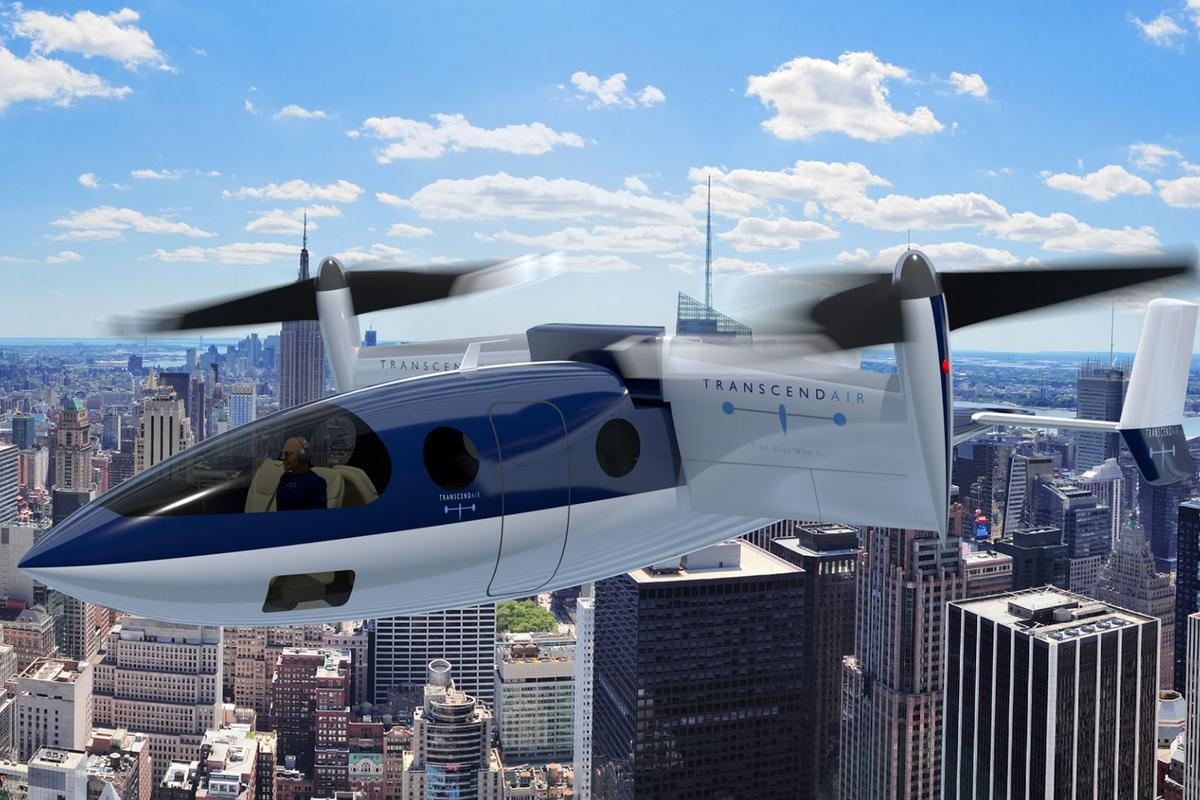 Transcend Air's Vy 400 VTOLaircraft