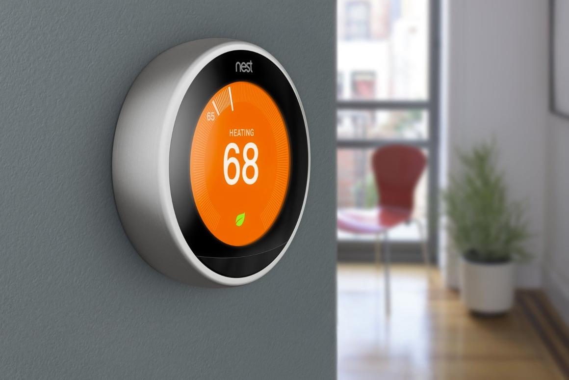 The latest Nest thermostat