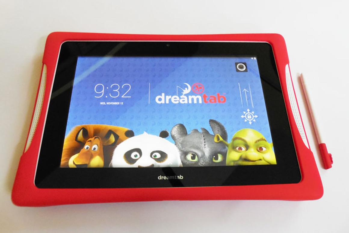 Fuhu's Nabi DreamTab HD 8 is a fully featured, sophisticated Android tablet for kids with fantastic parental controls (Photo: Lakshmi Sandhana/Gizmag)
