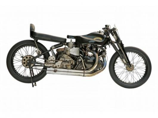 The Dearden Supercharged Vincent Black Lightning