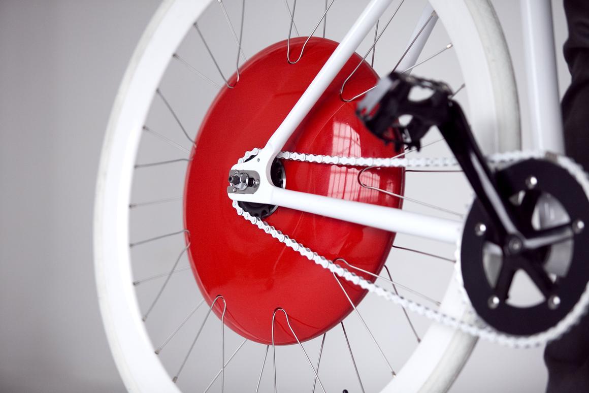The Copenhagen Wheel turns any bike electric