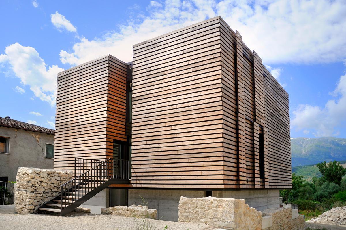 Energy Box was completed earlier this year (Photo: Pierluigi Bonomo)