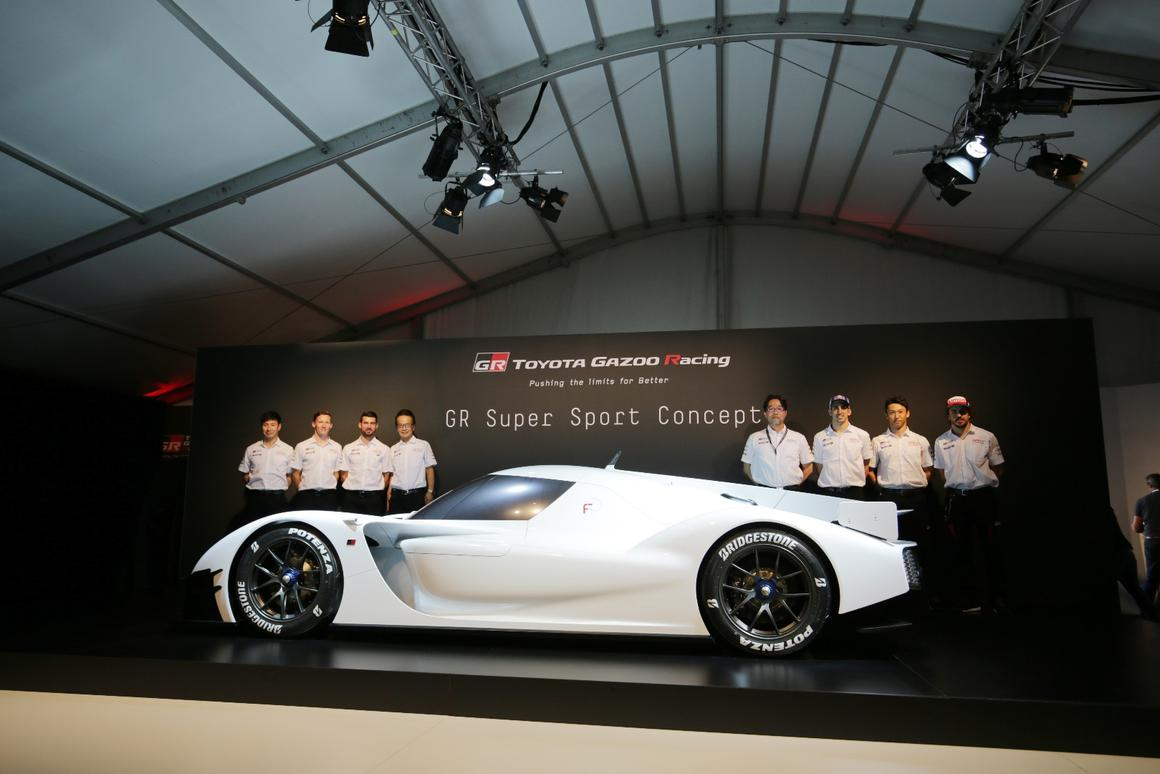 Toyota throws its hat back in the supercar ring with 1,000
