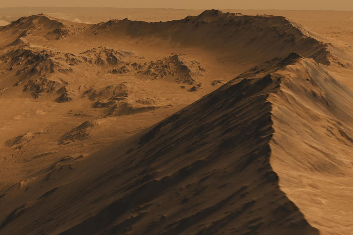 Mars has as much land area as our own Earth, so we should have more than a few options when it comes to choosing a settlement site, right?