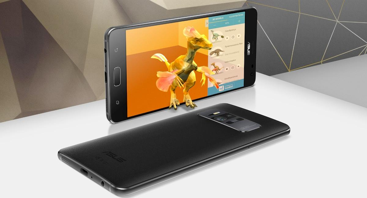 Asus has announced the ZenFone AR, the first phoneto be compatible with both Google's AR platform Tango, and its Daydream VR headsets