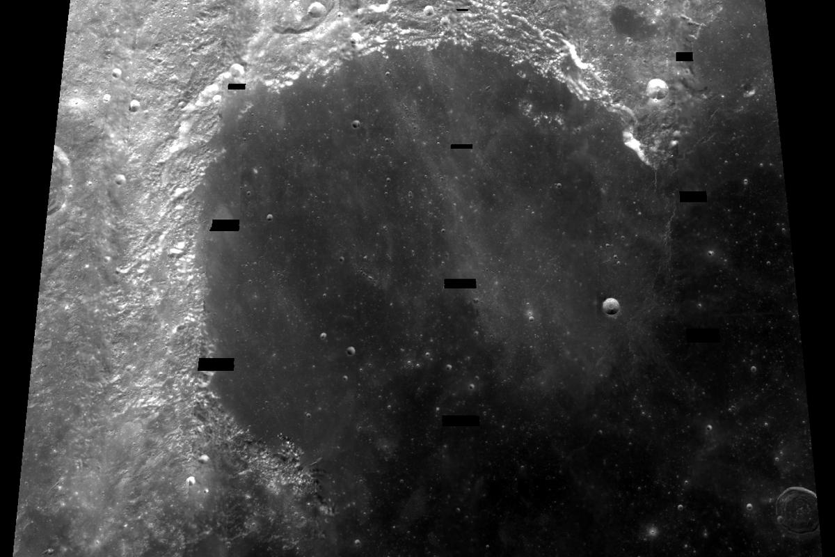 Sinus Iridum as seen from NASA's Clementine probe, where China plans to land a lunar rover in 2013 (Photo: NASA)