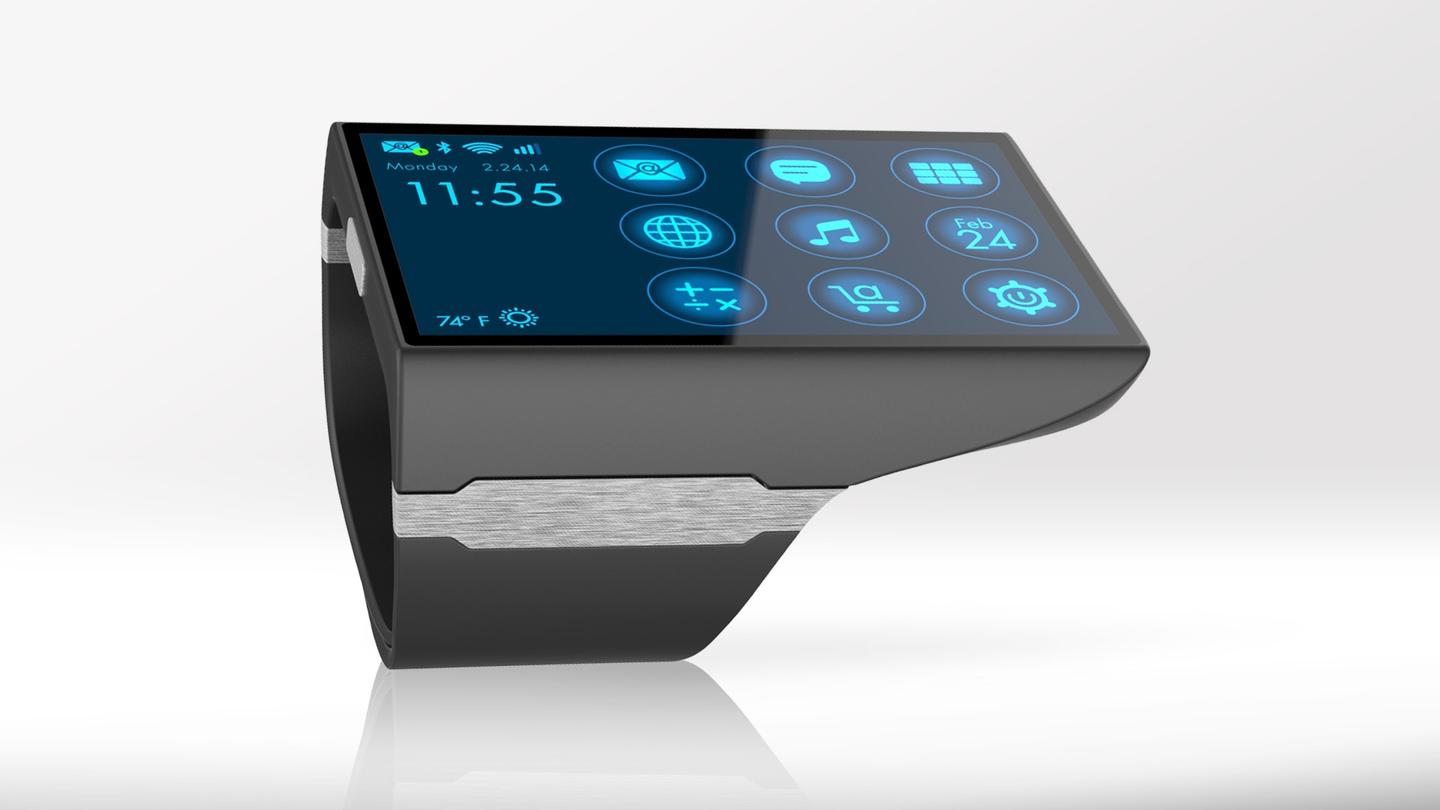 The Rufus Cuff is enormous, but runs full smartphone apps