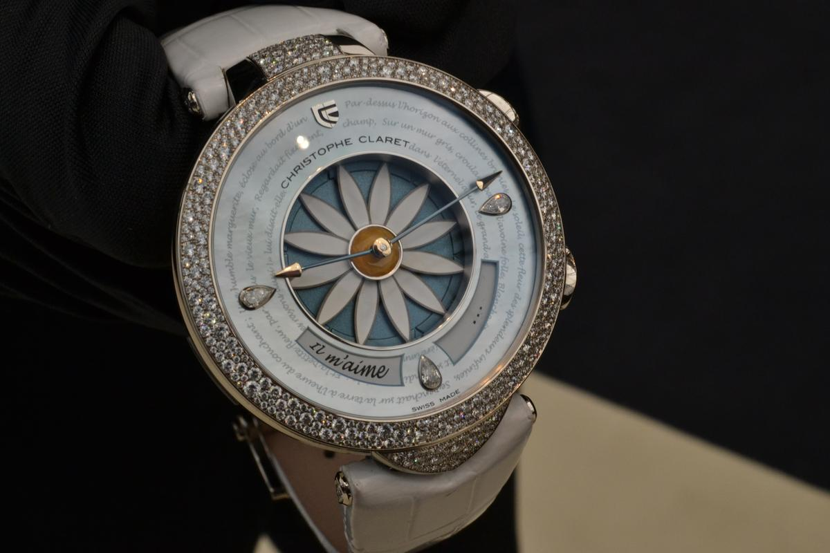 The Margot watch is a limited edition