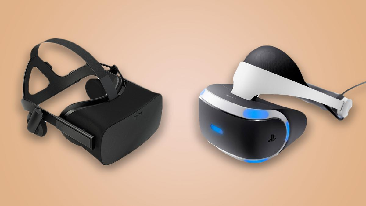 New Atlas compares the Oculus Rift and PSVR