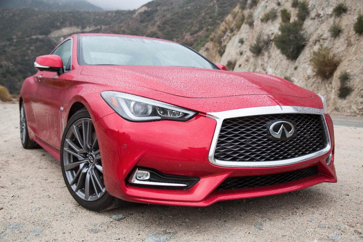 New Atlas came to grips with the Infiniti Q60 400Red Sport inLos Angeles