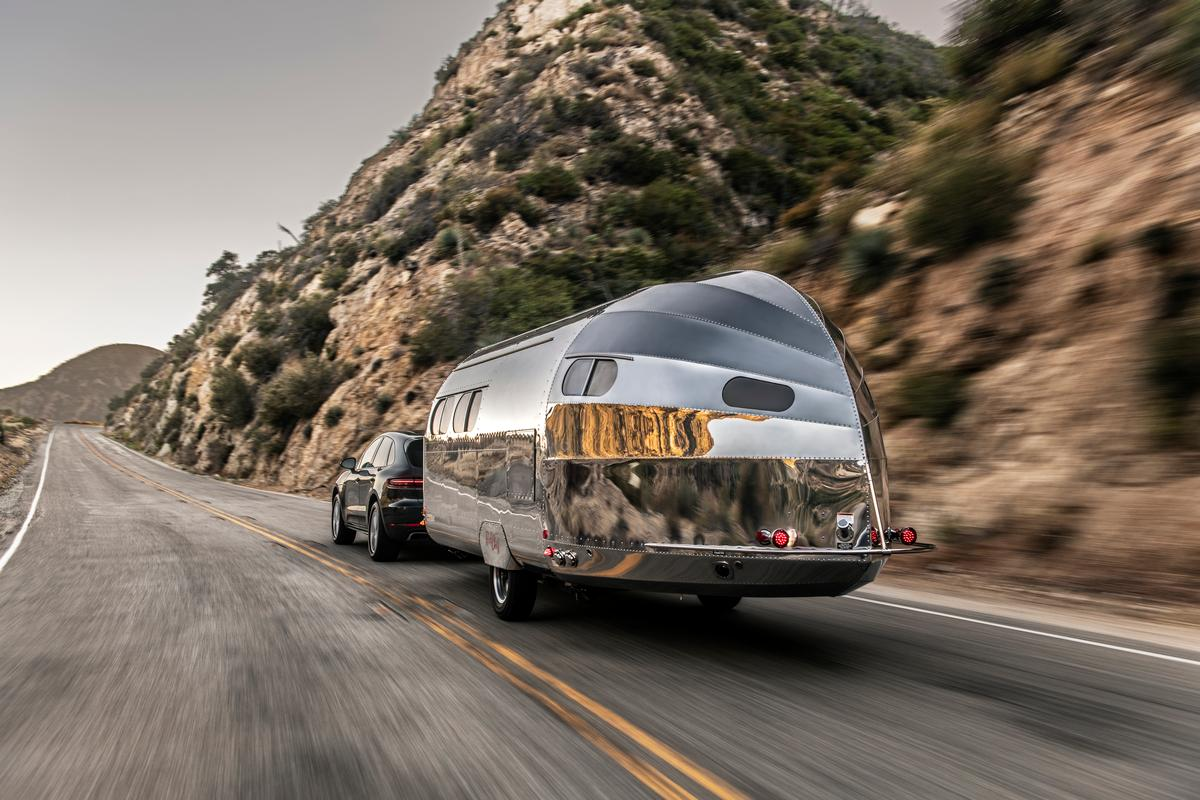 The Bowlus Road Chief Wave Bespoke Edition on the road