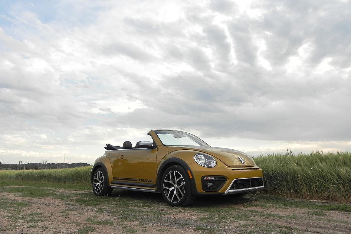 The 2016 VW Beetle Dune has a distinct personality that quickly imbues itself into the driver