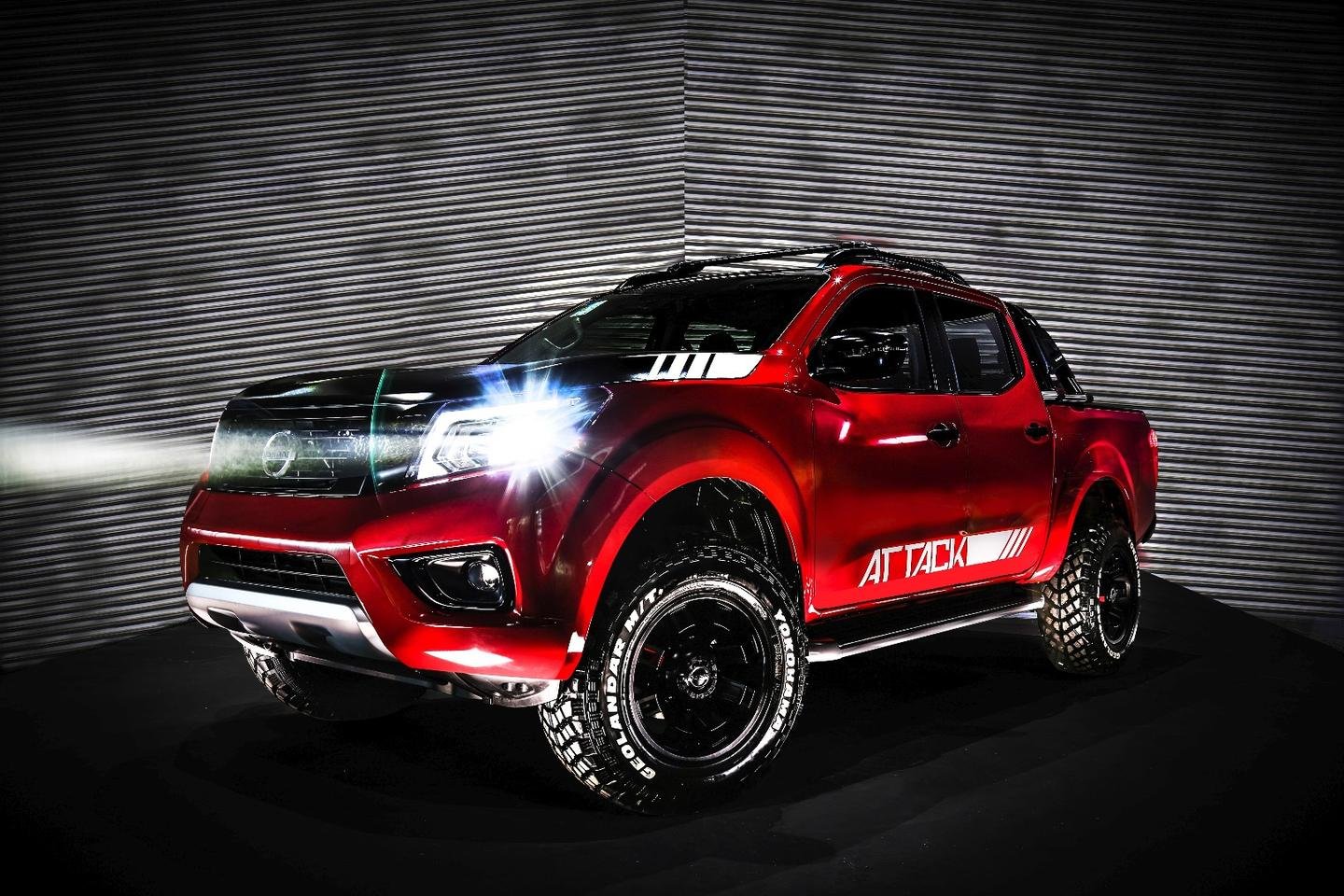 Nissan's Frontier Attack debuts in Buenos Aires