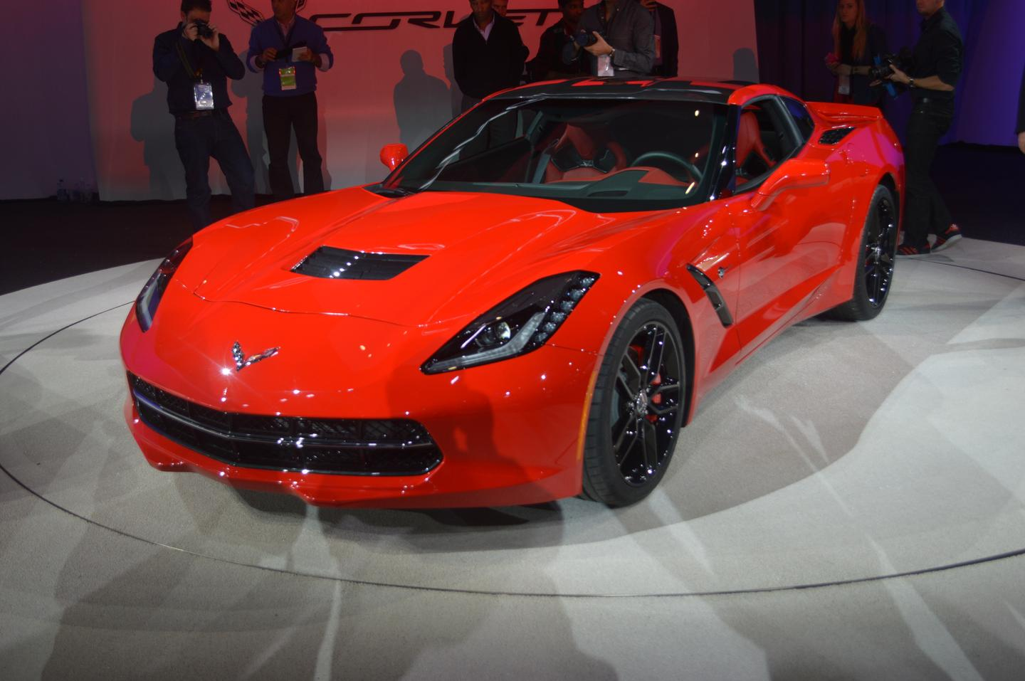 2014 Corvette Stingray at NAIAS