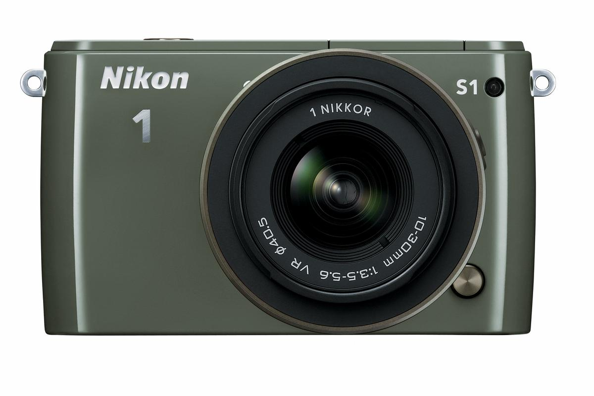 The Nikon 1 S1 is targeted at people who want a camera that's as easy to use as a compact, but with better performance and quality