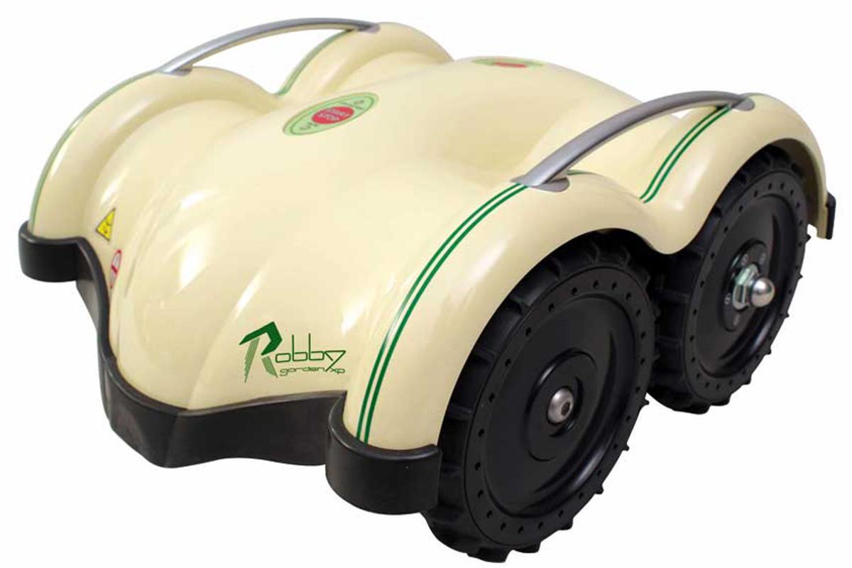 The Robby Garden XP robotic lawn mower