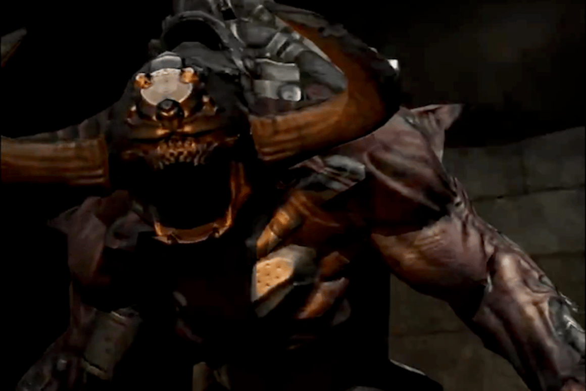When tested on first-person shooter game Doom 3 (pictured), Kahawai dramatically reduced the bandwidth needs for streaming play over the cloud