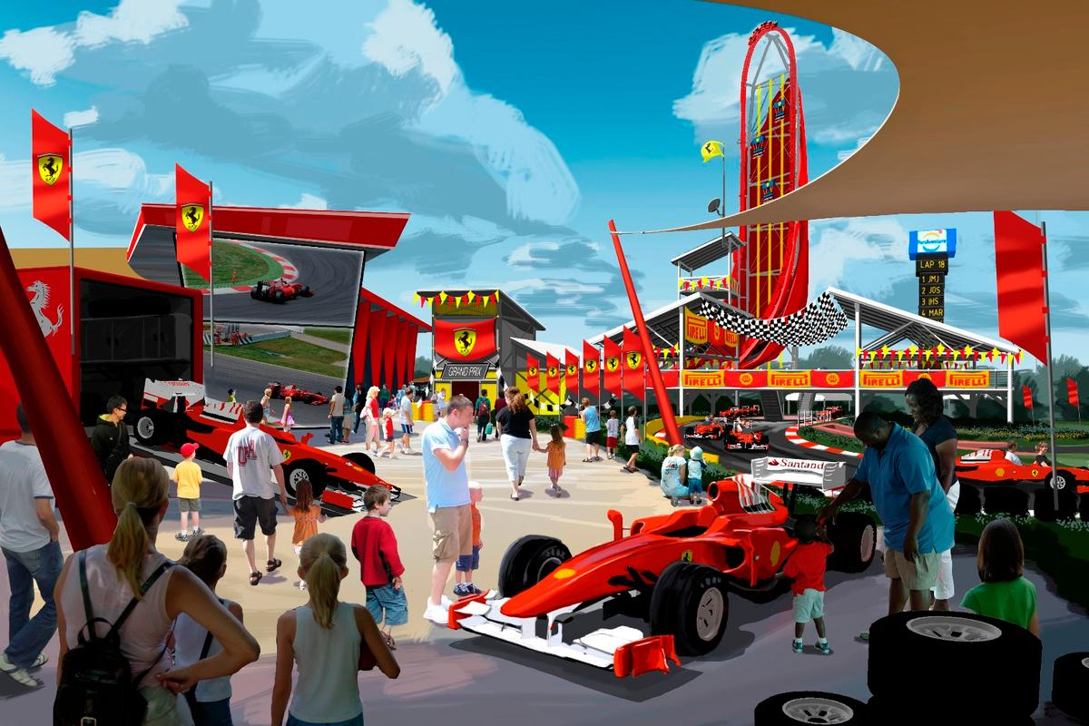 Ferrari Land will reportedly feature a number of record-breaking attractions