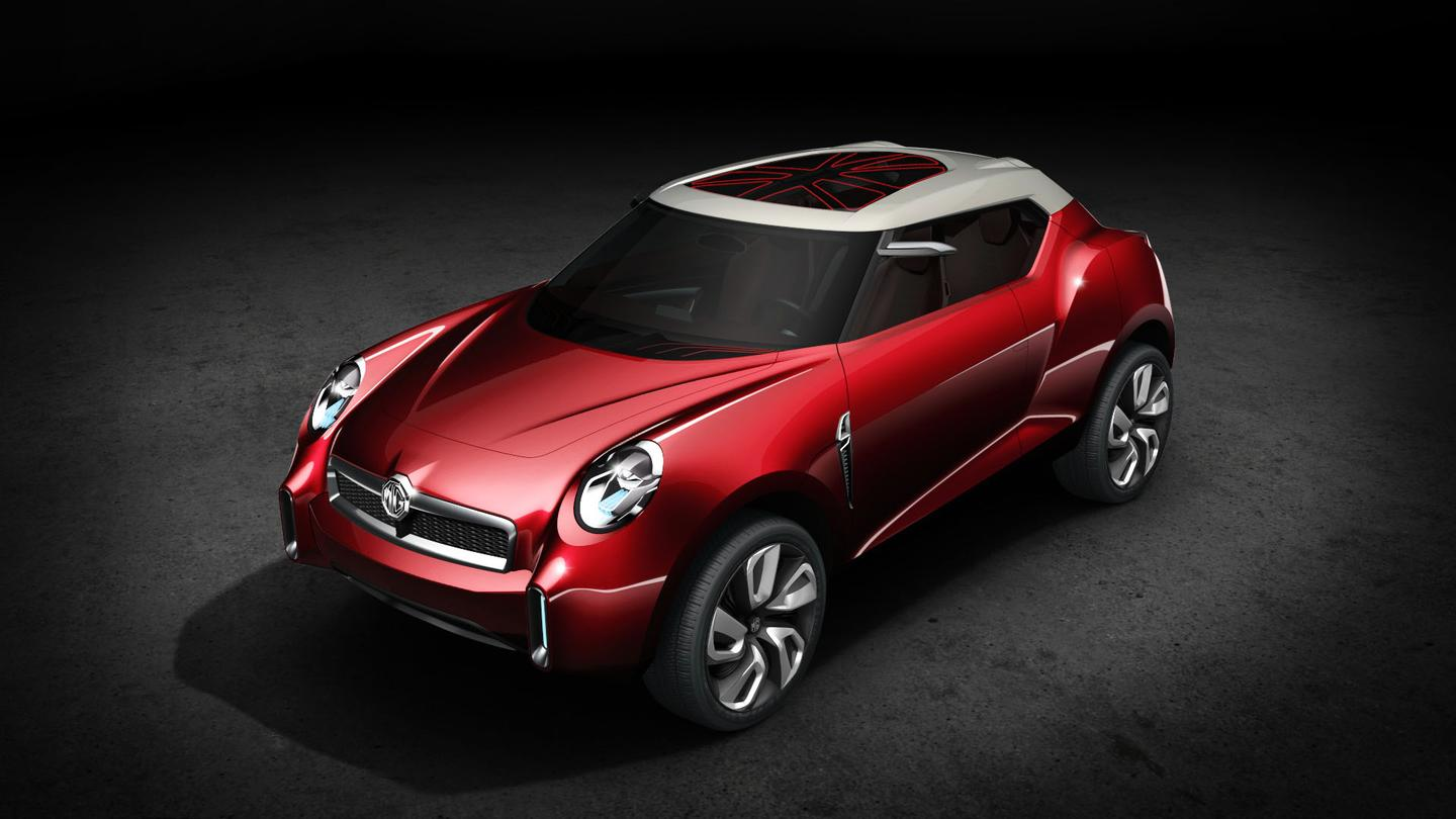 Classic MG styling cues updated in a new package