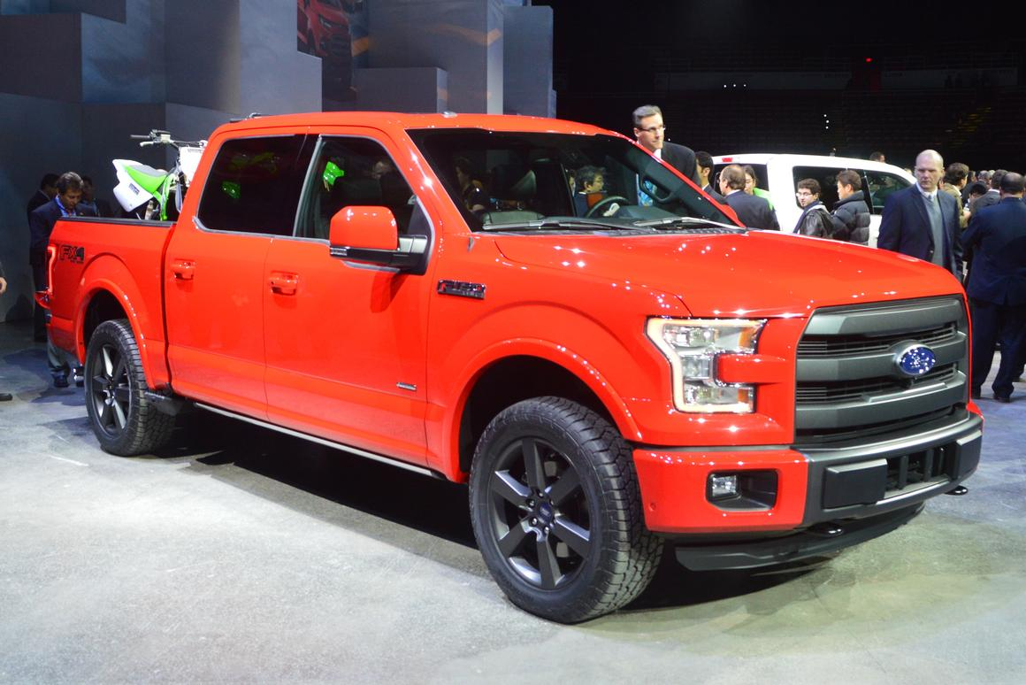 The new F-150 was one of Ford's big NAIAS 2014 stories