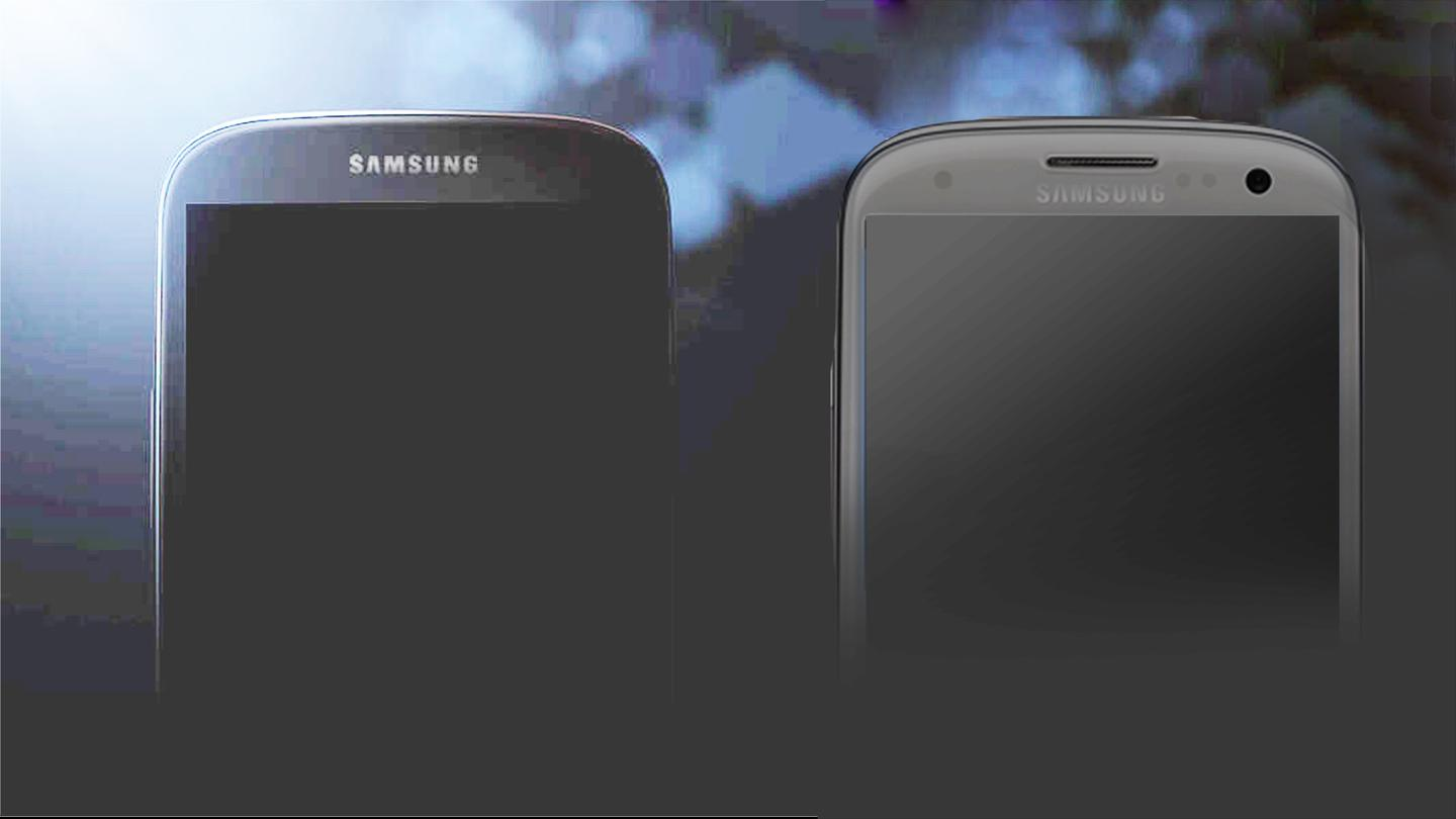 Our side-by-side shows that the S4 isn't (physically) much different from the S3