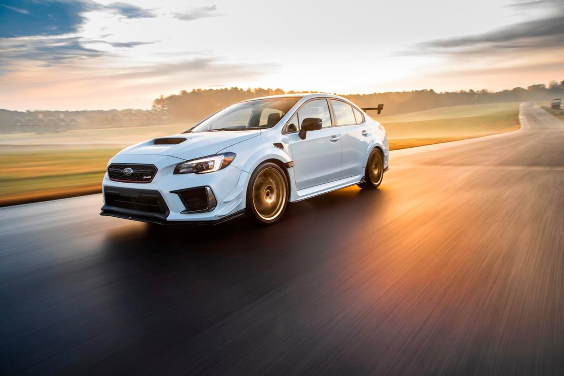 Although its name is on STI models, this S209 is the first STI-exclusive design that's being sold directly to the public