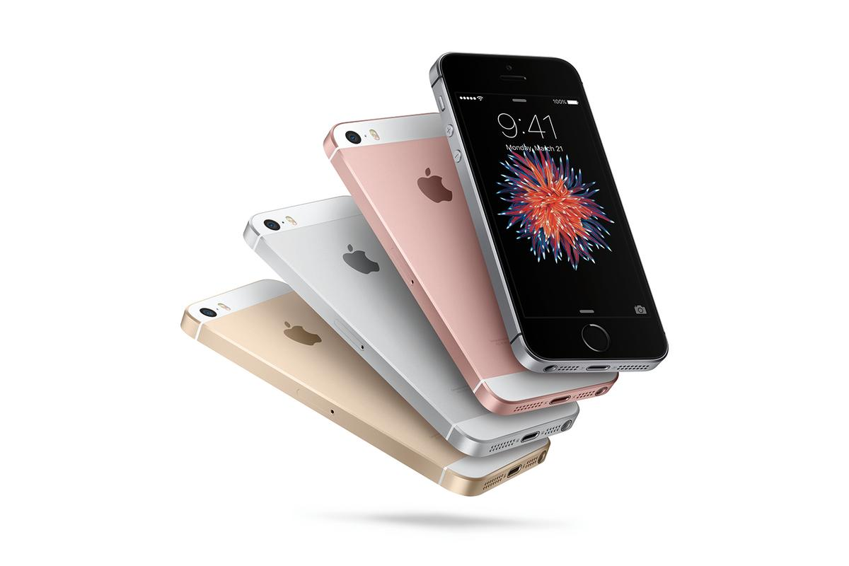 The iPhone SE is as powerful as the iPhone 6s but looks like an iPhone 5s