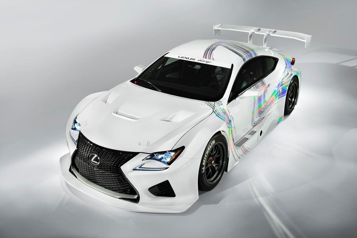 The Lexus RC F GT3 concept